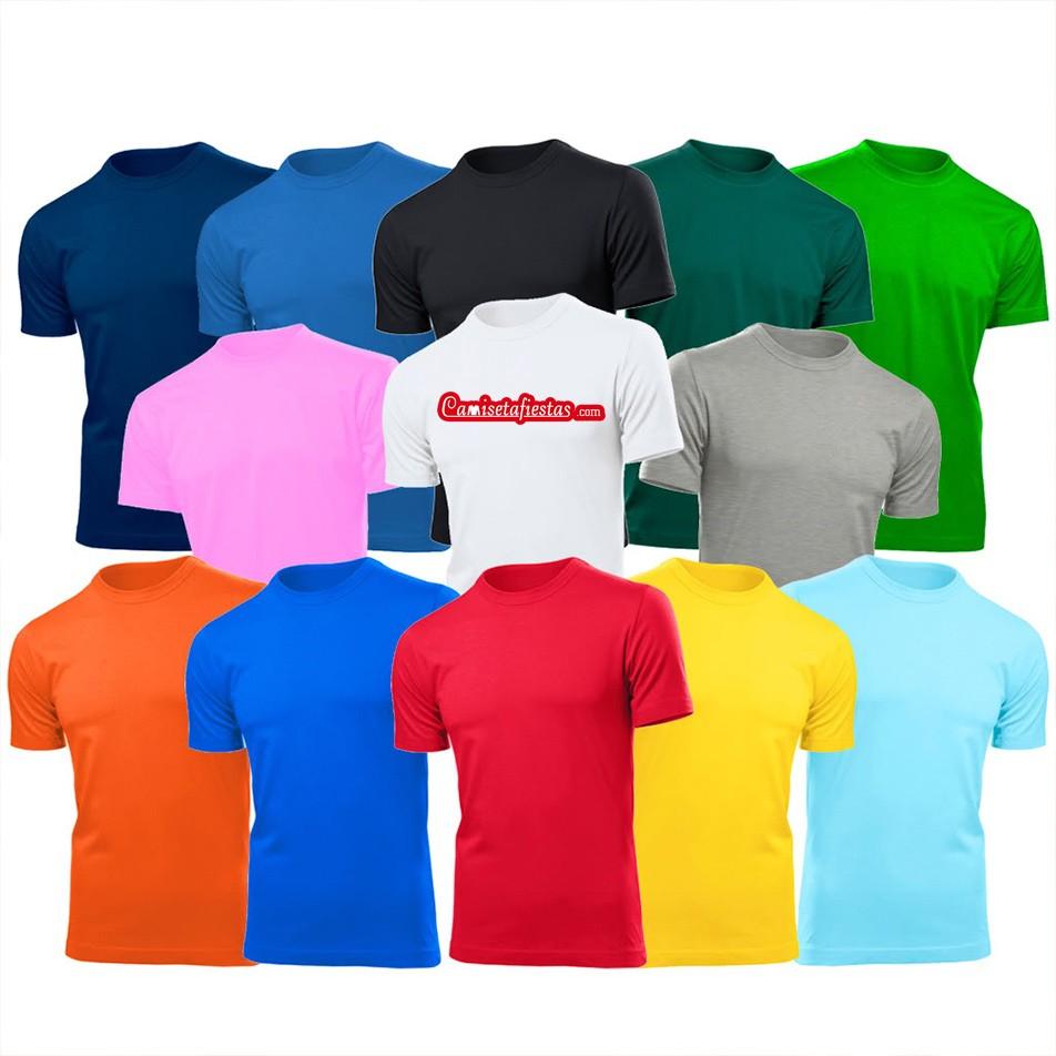camisetas de fiestas